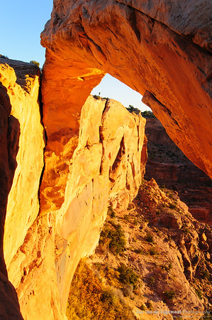 Mesa Arch - Why it glows