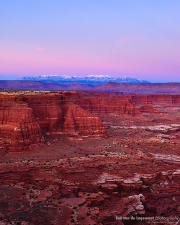 Canyonlands dusk