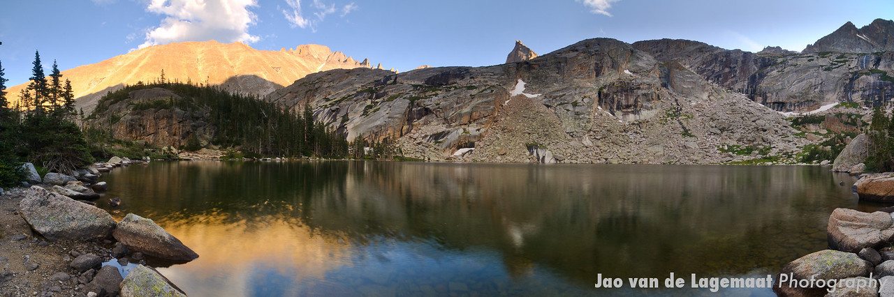 Black Lake panorama